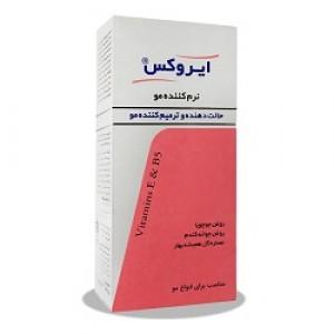 نرم کننده موی حالت دهنده و ترمیم کننده مناسب انواع مو ایروکس
