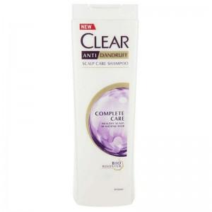 شامپو ضد شوره بانوان کلیر مدل Complete Care مناسب انواع مو