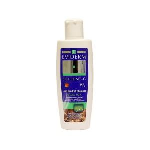 شامپو ضد شوره سیکلوزینک جی اویدرم مناسب موهای چرب ۲۵۰ میلی لیتر