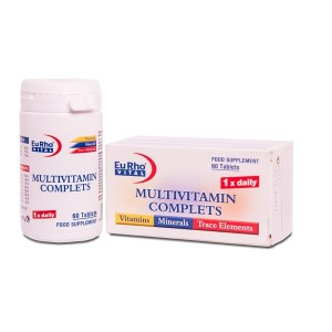 قرص ویتافیت مولتی ویتامین کامپلیت یوروویتال 60 عددی