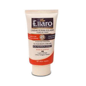 کرم ضد آفتاب الارو SPF25 بژ روشن مناسب انواع پوست ۴۰ میلی لیتر