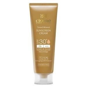 کرم ضد آفتاب رنگی سینره SPF50 شماره 1