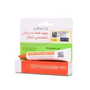 ژل تخصصی درمان انواع اسکار استراتادرم استرات فارما 10گرم