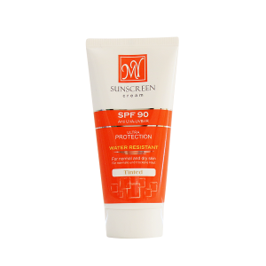 کرم ضد آفتاب SPF90 مای مناسب پوست های معمولی تا خشک ۵۰ میلی لیتر