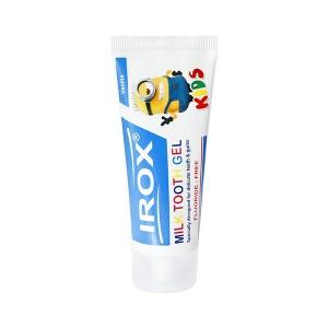ژل دندان شیری ایروکس مناسب کودکان 2 تا 7 سال 80 گرم