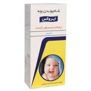 شامپو بدن کرمی بچه ایروکس ۲۰۰ گرم