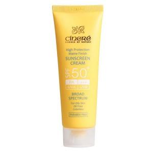کرم ضد آفتاب +SPF50  پوست چرب سینره 50 میلی لیتر