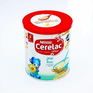 سرلاک برنج به همراه شیر نستله مناسب کودکان از پایان ۶ ماهگی