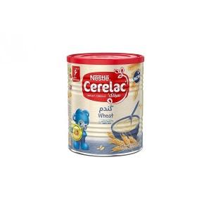 سرلاک گندم به همراه شیر نستله مناسب کودکان از پایان ۶ ماهگی