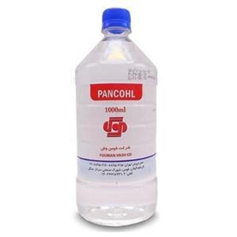 محلول ضدعفونی کننده دست الکل 70 درصد 1 لیتری پنکل