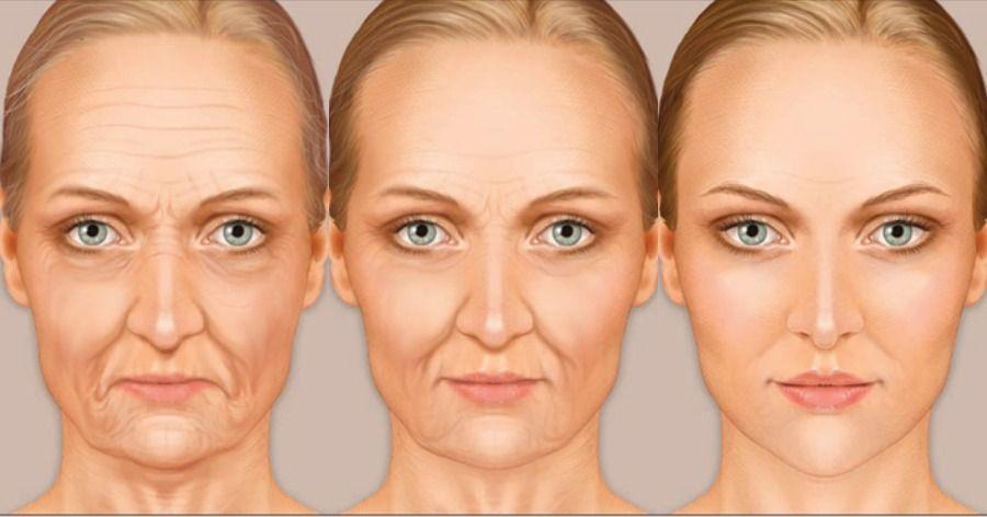 افتادگی و پیری پوست